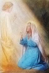 Misterios del Santo Rosario - La anunciación