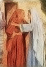 Misterios del Rosario - La visitación