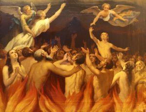 El cielo, el purgatorio y el infierno