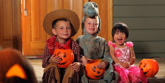 Los peligros de Halloween
