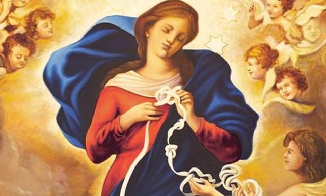 Novena a la Virgen desatanudos