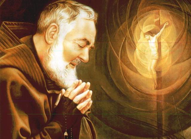 Santo rosario rezado por san Padre Pío