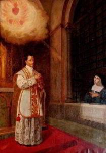 Santa Margarita y san Claudio de la Colombiere