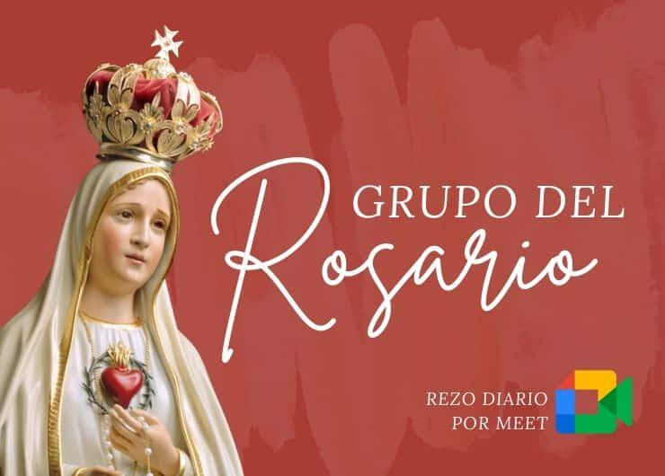 Grupo para rezar el Rosario diario
