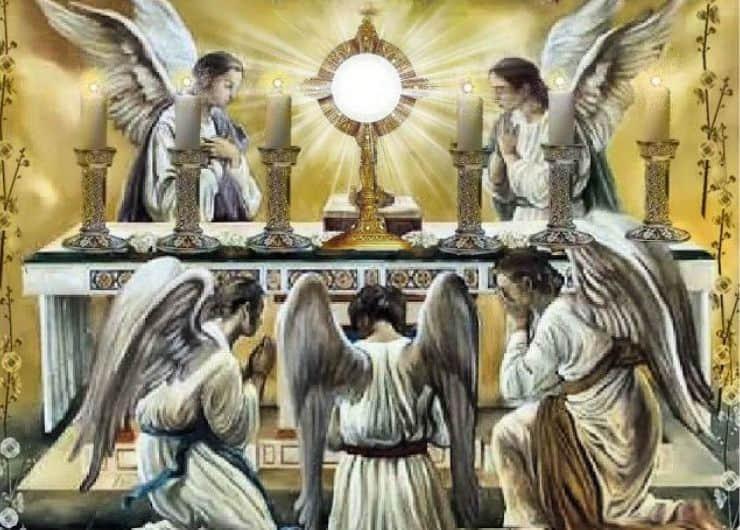 Oración para pedir a tu ángel que vaya a misa